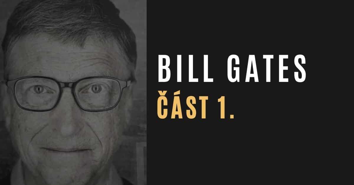 Jak Bill Gates zmonopolizoval globální zdravotnictví (část 1/4)
