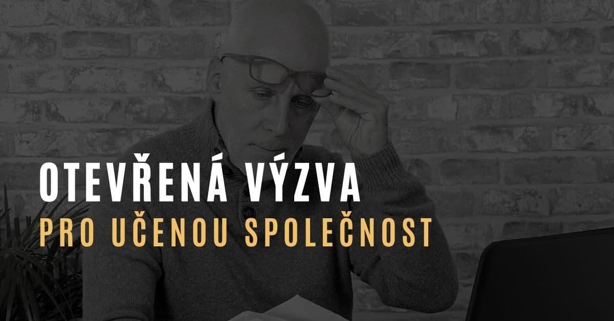 Otevřená výzva občanů směrem k Učené společnosti ČR v souvislosti s jejich letošními výzvami k řešení pandemie COVID-19