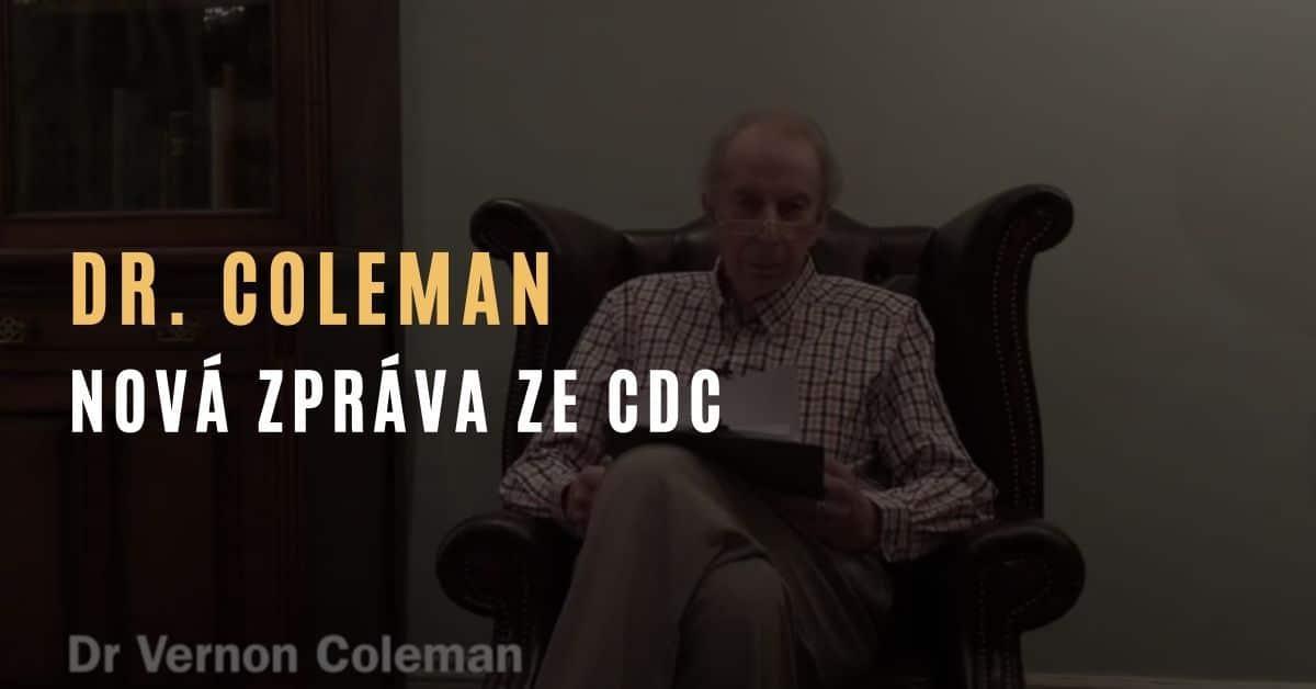 Dr. Coleman – Nová zpráva ze CDC uvádí, že 2,79 % očkovaných utrpělo vážné vedlejší účinky