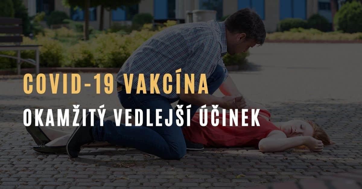 Sestřička 15 minut po obdržení vakcíny proti COVID-19 omdlela