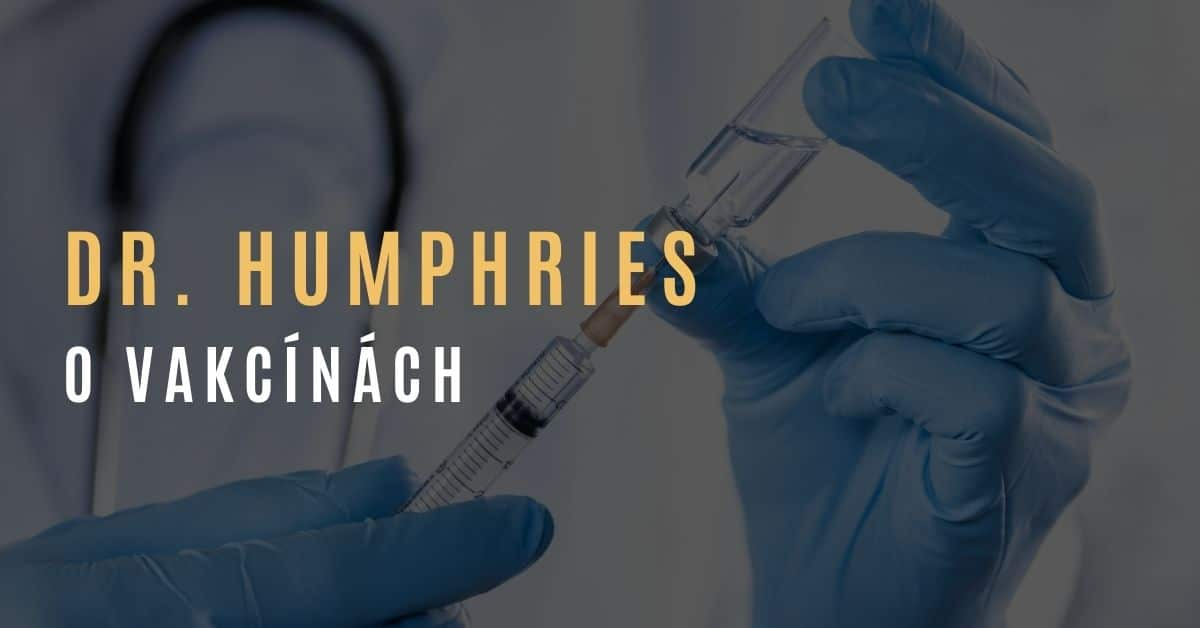 Dr. Suzanne Humphries – O vakcínách, lékařích a vymýcených nemocích
