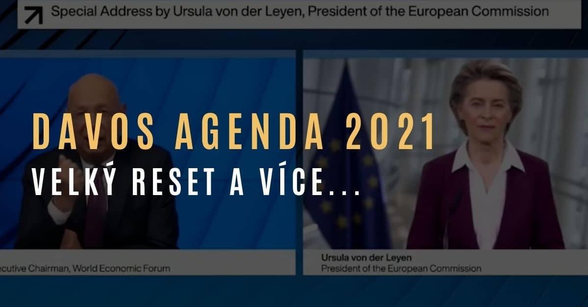 Davos Agenda 2021: Velký reset, Ursula von der Leyenová, Klaus Schwab – Kdo jsou skutečně MY?