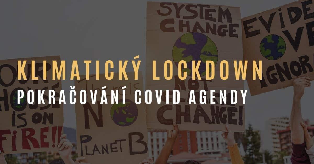 Klimatický lockdown – další forma omezování veřejnosti?