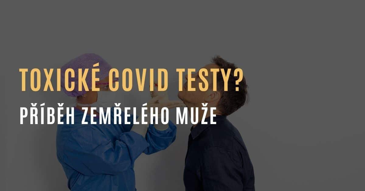 Testovací tyčinky na covid sterilizované ethylenoxidem – látkou, co způsobuje rakovinu | Muž sdílí příběh zemřelého otce