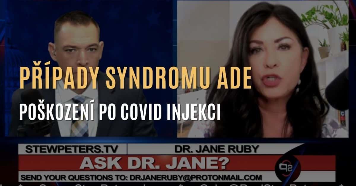 Případy poškození po covid injekci – syndrom ADE (protilátkově závislé zesílení)