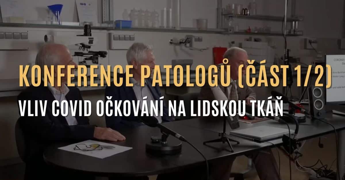 Konference patologů: Negativní vliv covid očkování na lidskou tkáň (část 1/2)