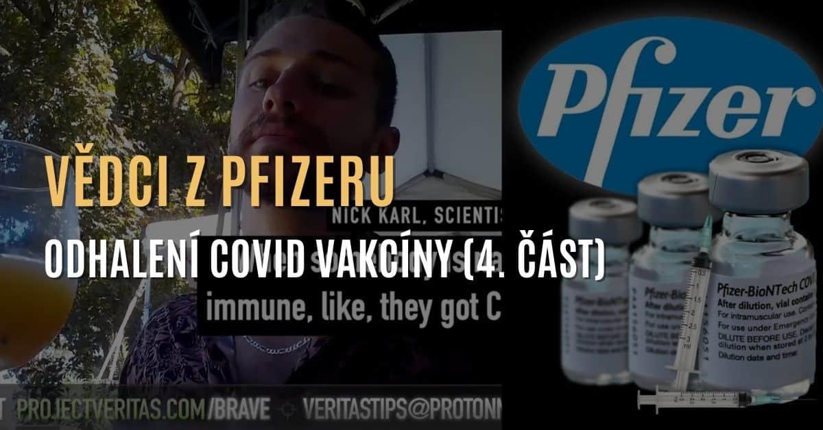"""Vědci společnosti Pfizer: """"Vaše protilátky [COVID] jsou lepší než očkování [Pfizer]"""" (4. část)"""