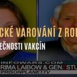 Prorocké varování z roku 2009 o nebezpečnosti vakcín - dr. Laibowá a generál Stubblebine